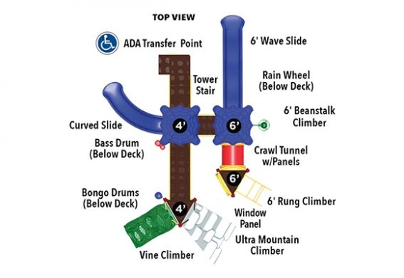 U Play 016 Top View Md