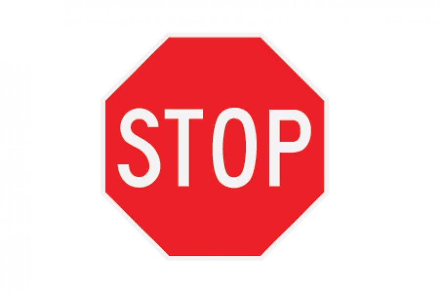Road Sign Stop