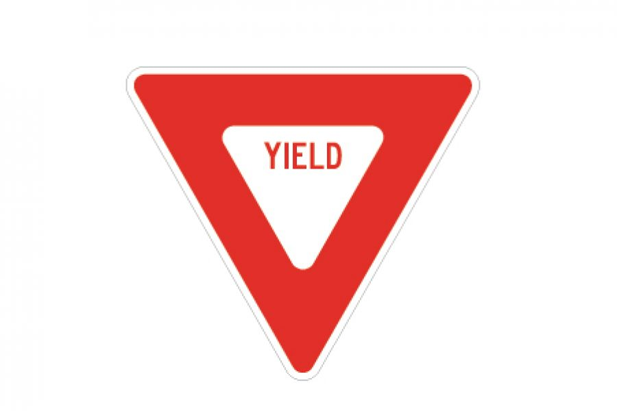 Road Sign Yield