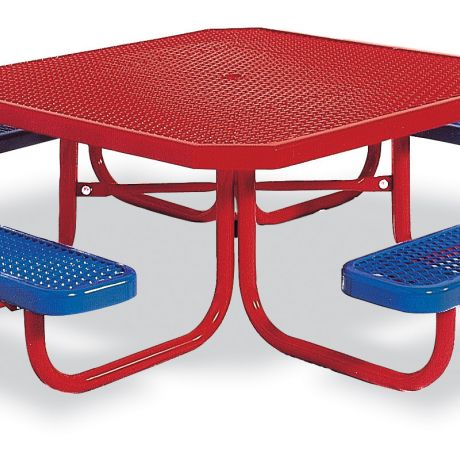 Portable Preschool Table- Octagon