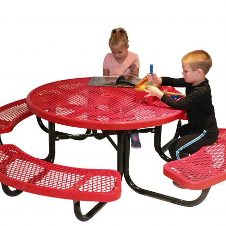 Portable Preschool Table- Round