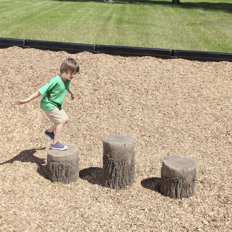 Tree Stumps (Ages 2-5)