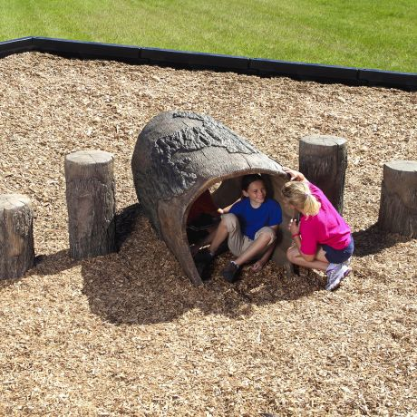 4' Log Tunnel