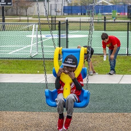 Inclusive Swing Seat Package (Age: 5-12)