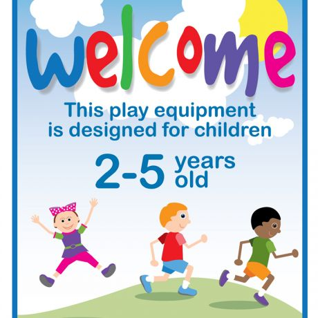 Welcome Sign (2-5 years)