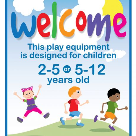 Welcome Sign (2-5 years or 5-12 years)