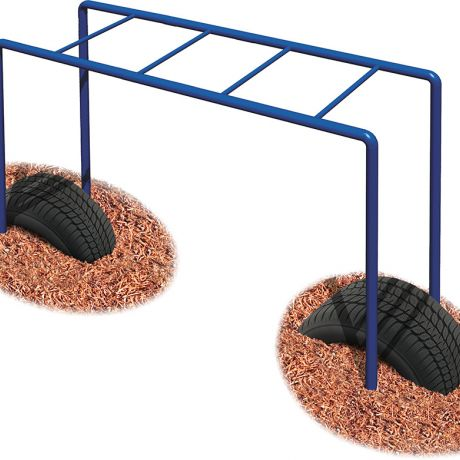 Early Childhood Horizontal Ladder- Tire Boost Package