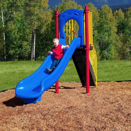Freestanding 4' Slide